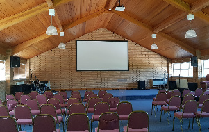 Mattersey Hall - Projector & Screen AV